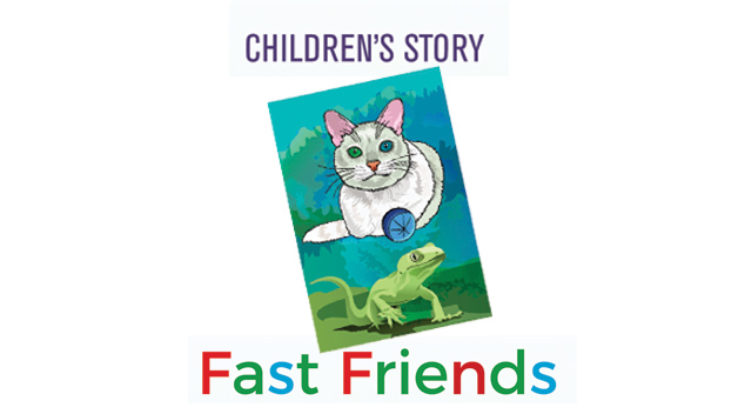 The Bookshelf: Children's story – Fast Friends