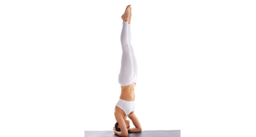 Study of Yoga: Sirsasana