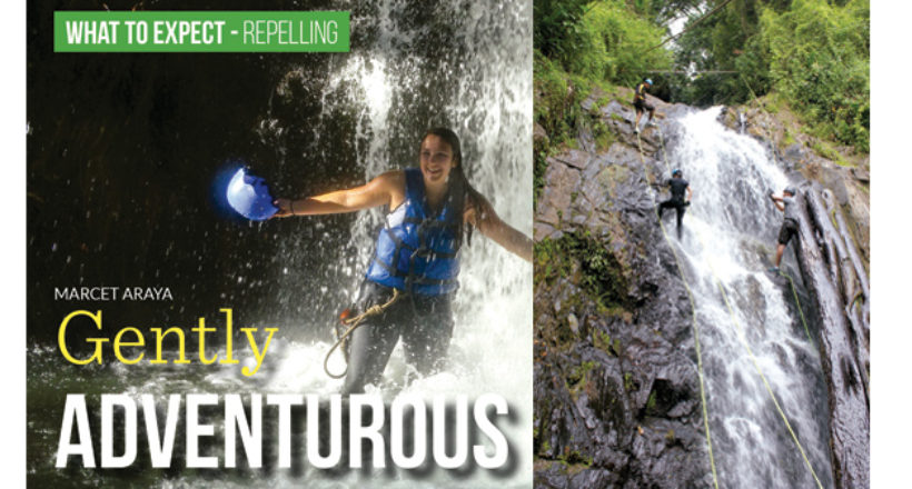 What to Expect: Waterfall Rappelling – Gently Adventurous