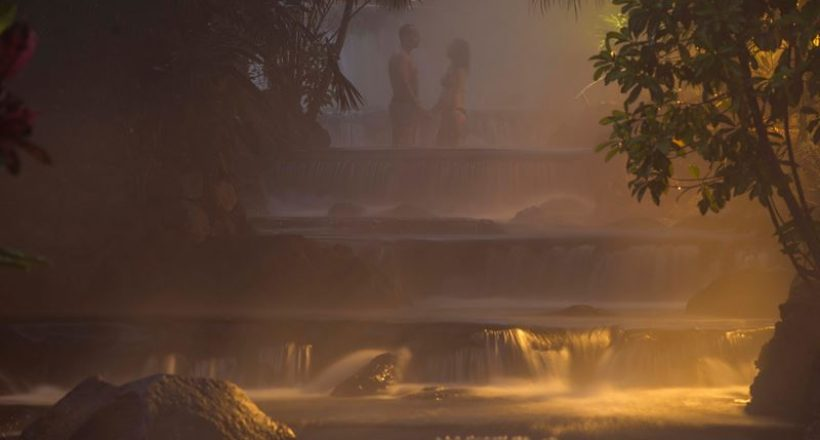Cool Places – THE TABACÓN HOT SPRINGS BY NIGHT