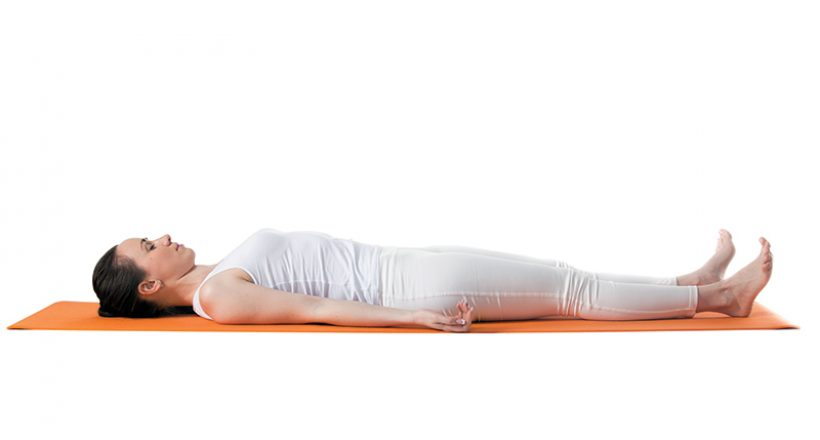 Savasana Corpse Pose - Yogapedia - The Howler Magazine